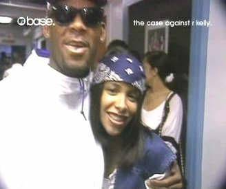 r kelly and aaliyah  ... 1994 par l'oncle d'Aaliyah