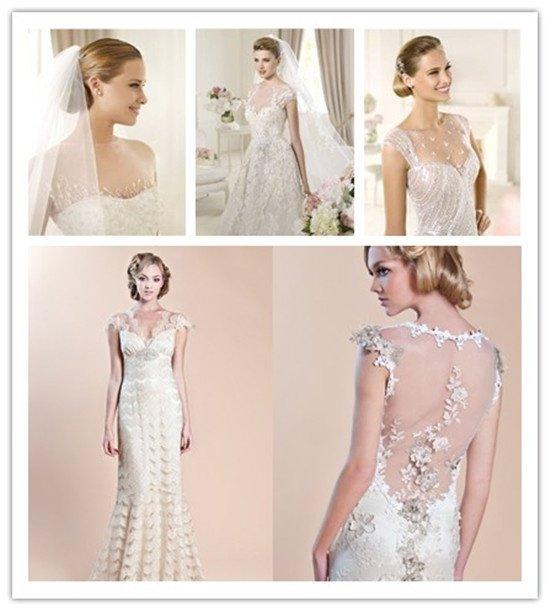 robe de mariée transparente- la tendance de robe de mariée 2013 ...