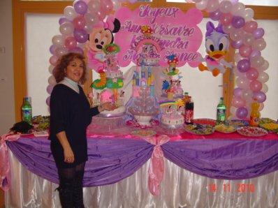 G teaux d 39 anniversaire avec d coration gateaux rosa - Decoration d anniversaire ...